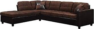 Coaster Fine Furniture 6556505 Brunswick Reversible Sectional Chocolate