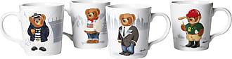 Ralph Lauren Home Haven Bears Mug - Set of 4