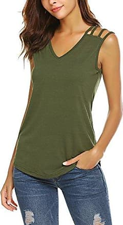 Damen Mode Bodycon Basic Top V-Neck Sommer Oberteil Freizeit Blusen Zip T-shirt