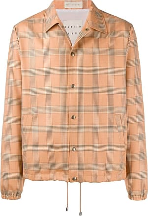 Paura x Kappa plaid shirt jacket - Laranja