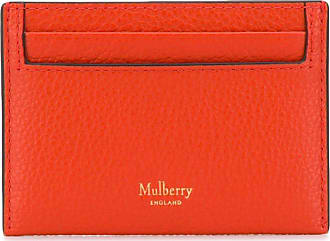 Mulberry compact logo cardholder - Laranja