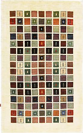 Nain Trading 246x153 Tappeto Fatto A Mano Persia Gabbeh Loribaft Beige/Marrone Scuro (Lana, Persia/Iran)