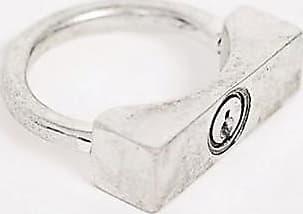 Icon Brand Anello a lucchetto argento