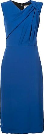 Jason Wu Vestido com detalhe de franzido - Azul