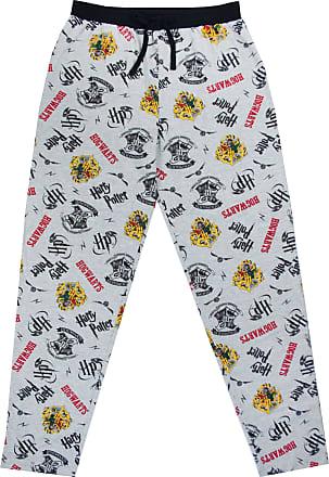 Harry Potter Jogging Bottoms Hogwarts Crest Mens Lounge Pants Pyjama Bottoms Grey