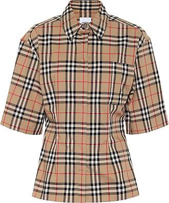 Burberry Vintage Check stretch-cotton shirt