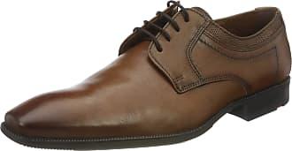 Lloyd Mens LACOUR Uniform Dress Shoe, Cognac, 11.5 UK