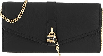 Chloé Cross Body Bags - Aby Wallet On Chain Black - black - Cross Body Bags for ladies
