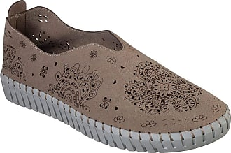 9d4adcafff11 Skechers Skechers Sepulveda BLVD My Map Womens Slip On Sneakers Taupe 5.5
