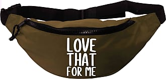 Flox Creative Recycled Polyester Khaki Green Bumbag Love That For Me