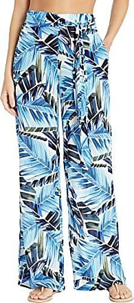 La Blanca Womens Swimsuit Cover Up Pant, Blue//Two Cool, M
