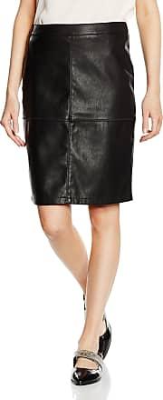 Vila Womens Skirt Vipen New Skirt-fav, Black (Black), 34 (Manufacturers Size: XS)