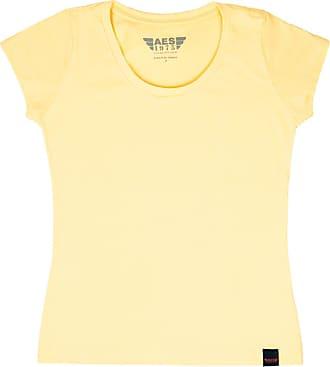 AES 1975 Camiseta Básica Amarela