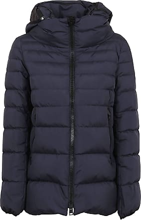 Herno Fashion Woman PI079DL111069201 Blue Polyester Down Jacket | Fall Winter 20