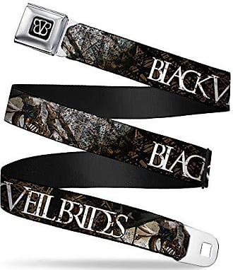 Stacked Gray 1.0 Wide-20-36 Inches Buckle-Down Mens Seatbelt Belt Pokemon Kids