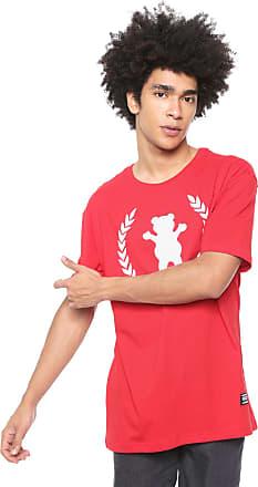 Grizzly Camiseta Grizzly Premier Og Bear Vermelha