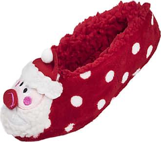 Lora Dora Womens Fleece Lined Slipper Socks Unicorn Pink One Size