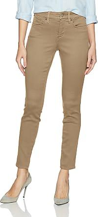 NYDJ womensAmi Skinny Legging Jeans in Super Sculpting Denim Jeans - Yellow - 14 29.5