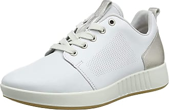Legero Womens Essence Low-Top Sneakers, (White (White) 10), 5.5 UK