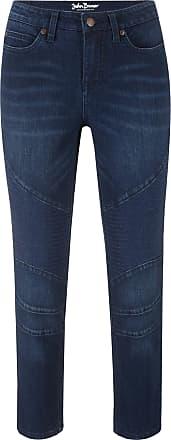 d078d8aada1a John Baner Jeanswear Dam Biker jeans i blå - John Baner JEANSWEAR