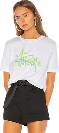 Stüssy Basic Logo Tee in White