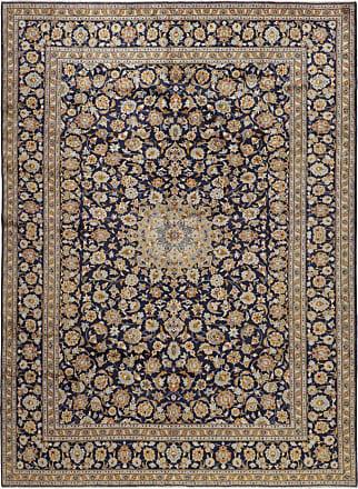 Nain Trading 402x304 Tappeto Persiano Keshan Grigio Scuro/Marrone Scuro (Annodato a mano, Persia/Iran, Lana)