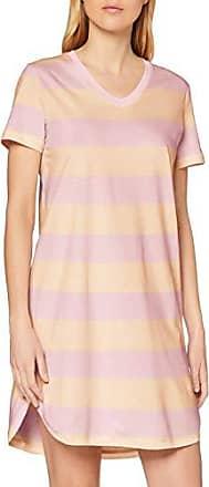 Schiesser Damen Sleepshirt  Nachthemd 1//2 Arm beere,rot 100 cm große Größen