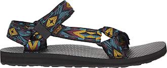 Teva Mens Original Universal Open Toe Sandals, Multicolour (Double Diamond Deep Lake DDDL), 10 UK (44.5EU)
