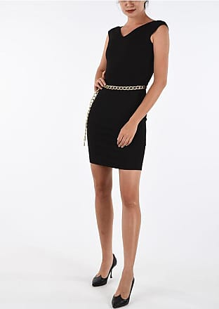 Just Cavalli Mini Bodycon Dress with Chain Belt size 38
