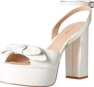 Rachel Zoe Womens Courtney Platform Sandal Heeled, White, 11 M US