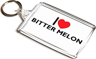 ILoveGifts KEYRING - I Love Bitter Melon - Novelty Food & Drink Gift