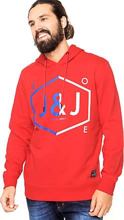 Jack & Jones Moletom Jack & Jones Estampado Vermelho