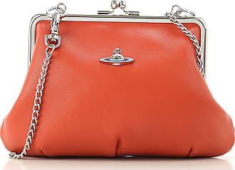 e09794836c6 Vivienne Westwood Clutch Bag, Orange, Leather, 2017, one size