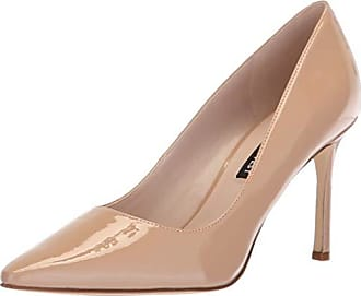 Nine West Womens EMMALA Synthetic Pump, Light Natural, 9.5 M US