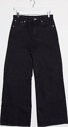 Weekday ace straight leg jeans in tuned black