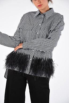 N°21 Blouse With Ostrich Feathers size 46