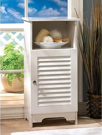 Zingz & Thingz Zingz and Thingz Nantucket Storage Cabinet in White