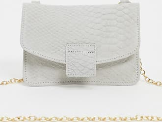 Urban Code small leather cross body purse bag in white
