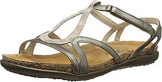 Naot Naot Womens Dorith Gladiator Sandal, Beige Snake, 36 EU/5-5.5 M US