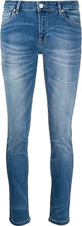 Frankie Morello Calça jeans skinny com lavagem - Azul