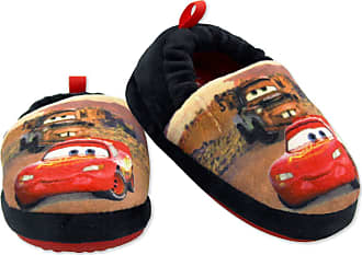 Disney Cars Lightning McQueen Tow Mater Toddler Boys Plush Aline Slippers