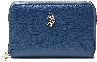 U.S.Polo Association U.S. POLO ASSN. Jones M Zip Around Wallet Navy