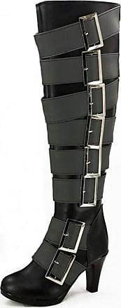 Cosstars Black Butler Kuroshitsuji Undertaker Anime Cosplay Shoes Boots