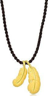 Chow Sang Sang 999.9 Gold Feather Necklace