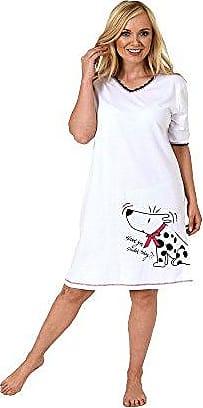 171 213 90 602 Tolles Damen Nachthemd Bigshirt kurzarm in wunderschöner Optik