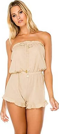 Luli Fama Womens Swimwear, -gold rush, MED