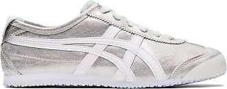 Onitsuka Tiger Womens Mexico 66 Sneaker, Size: 5.5 B(M) US, Color: Cool Mist/White