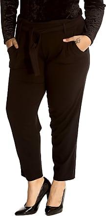 Nouvelle Collection Front Tie Trousers Black 16
