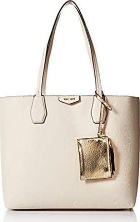 Nine West Caden Tote Bag, Milk Platino