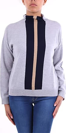 Eleventy 980MA0544MAG28012 High Neck Women Gray and Blue M